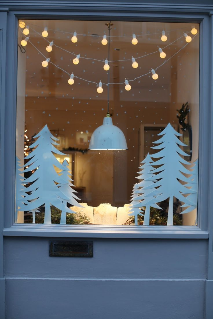 Hometalk diy christmas window decoration - Www Rustjewellery Com Christmas Pinterest Window Displays Window And Display