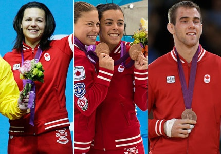 It has been a multi-medal day for Canada at the London Olympics. Antoine Valois-Fortier won a bronze in men's judo just after Roseline Filion and Meaghan Benfeito captured a bronze in the 10-metre synchronized event. ThenChristine Girard captured bronze in the women's 63-kilogram class. Canada now has four total medals.