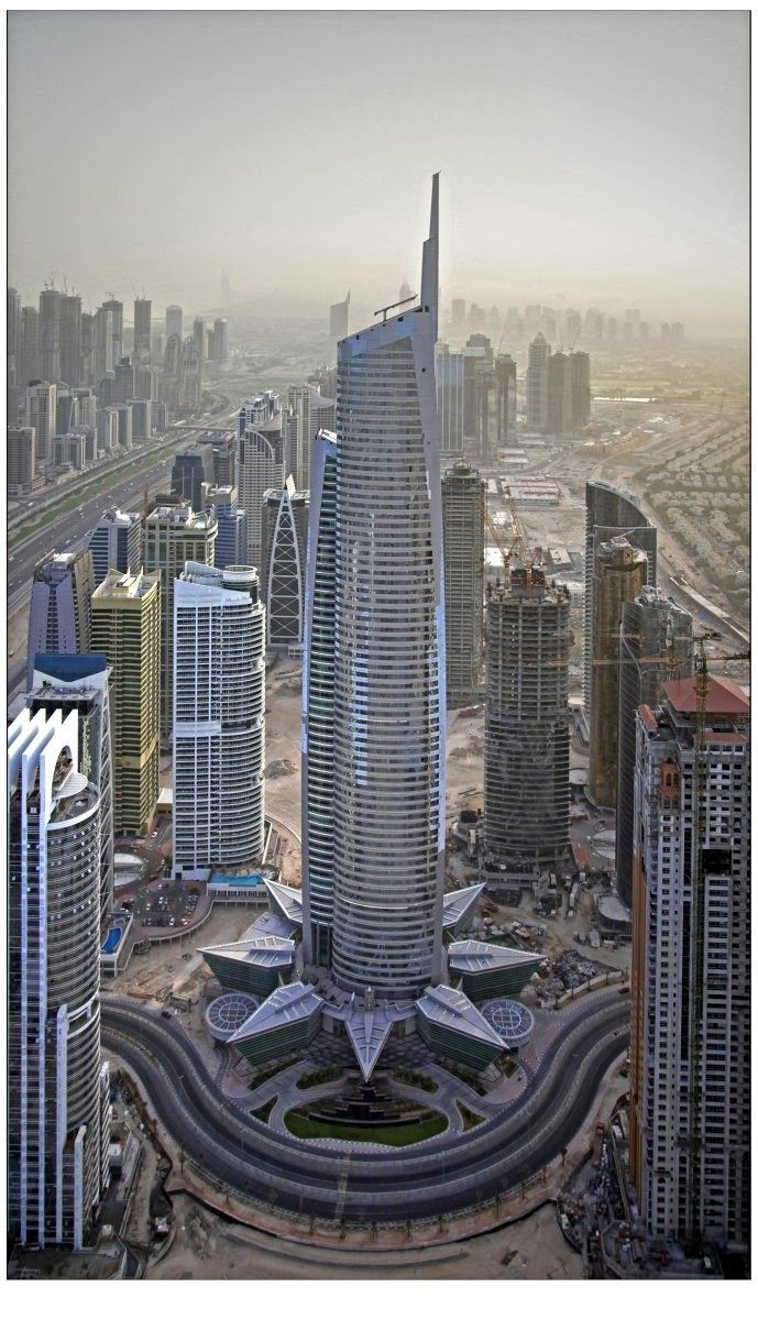 30th tallest building in the world - Almas Tower, Dubai