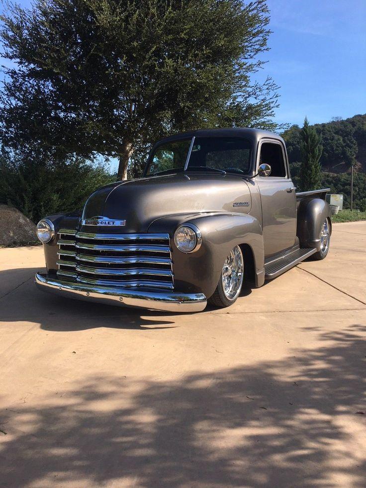 grey beast 1952 Chevrolet Pickups hot rod Chevy trucks