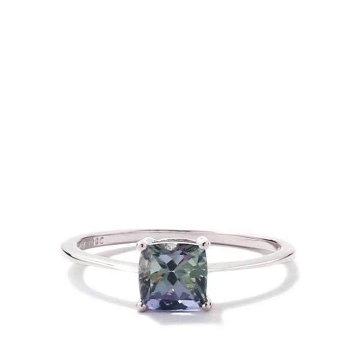 Bi-Colour Tanzanite Gold Ring