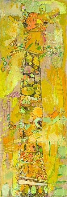 Yellow | Giallo | Jaune Reminds me of the Kiss by Gustav Klimt