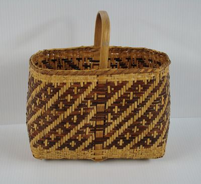 Cherokee Basket Woven With Stairway To Heaven Pattern Western Carolina  University Has An Amazing Index Of