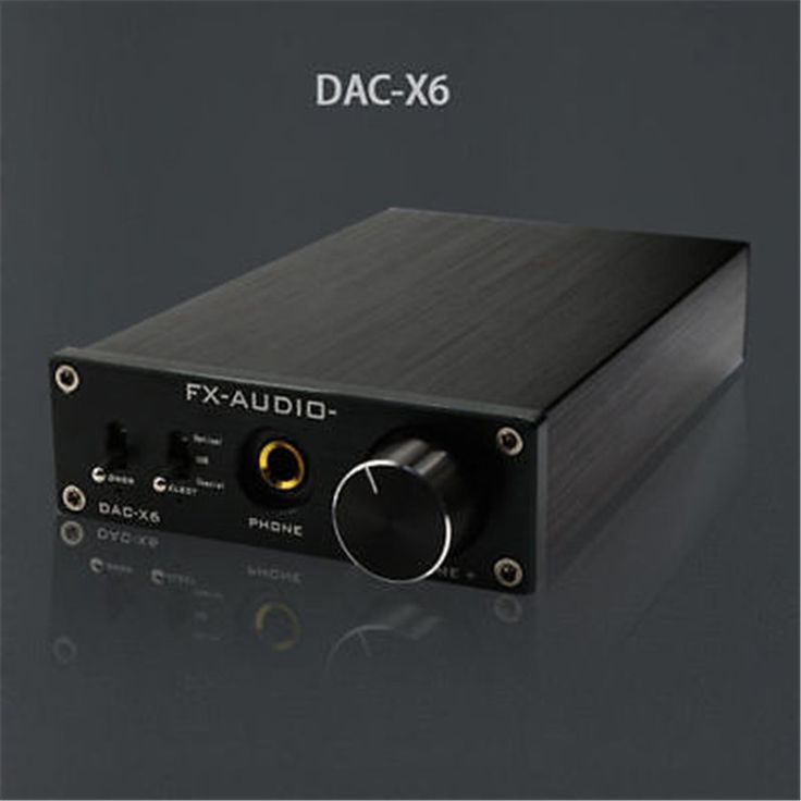 FX-audio Feixiang DAC-X6 Fever HiFi AMP USB Fiber Coaxial Digital Audio Decoder Technical Specifications: Standard Input Interface: PC USB / coaxial, fiber optic (with toggleswitch) Standard output interface: 6.35mm headphone output base linestandard RCA connectors Color: Black Panel Color: Black / Silver(pls tell us which the color you want,or we will send the color randomly) ...