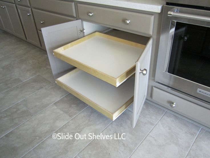 17 Best Images About Pull Out Shelves/Kitchen Cabinets On
