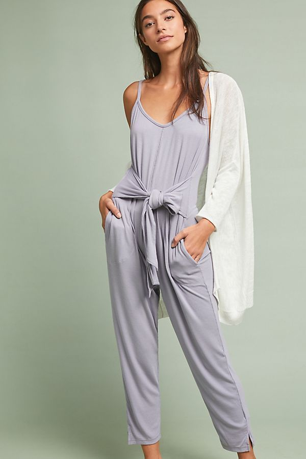1ef5244f69b ANTHROPOLOGIE SATURDAY SUNDAY RHONDA JUMPSUIT IN LAVENDER SIZE M   Anthropologie  Jumpsuit