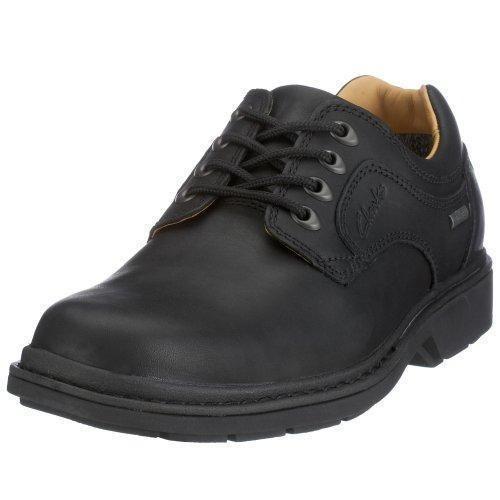 Oferta: 141€ Dto: -1%. Comprar Ofertas de Clarks Rockie Lo GTX 203186067 - Zapatos de cordones de cuero para hombre, Negro, 42.5 barato. ¡Mira las ofertas!