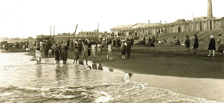 Playa Principal de Pichilemu, 1910