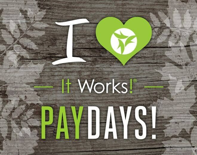Need extra income? It's up to you! ===> www.22s.com/danhoward/it-works-distributor-information #payday #itworks #weekend #crazywrapthing