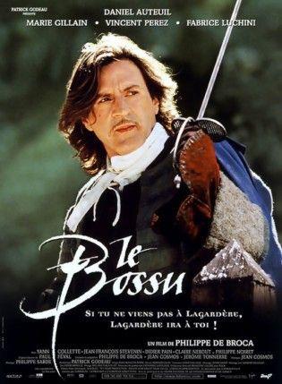 Affiche du film Le Bossu de Philippe de Broca et avec Daniel Auteuil