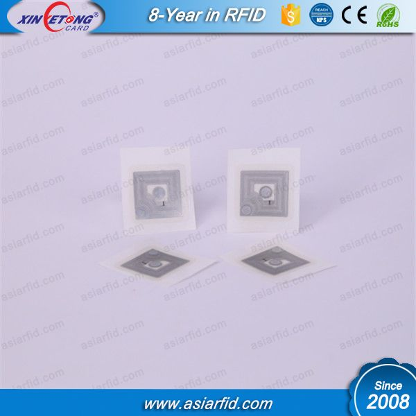 Small ISO15693 RFID Transparent label I Code SLI-X