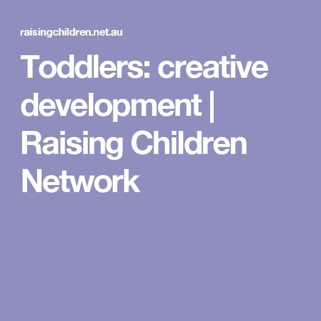 Toddlers: creative development | Raising Children Network