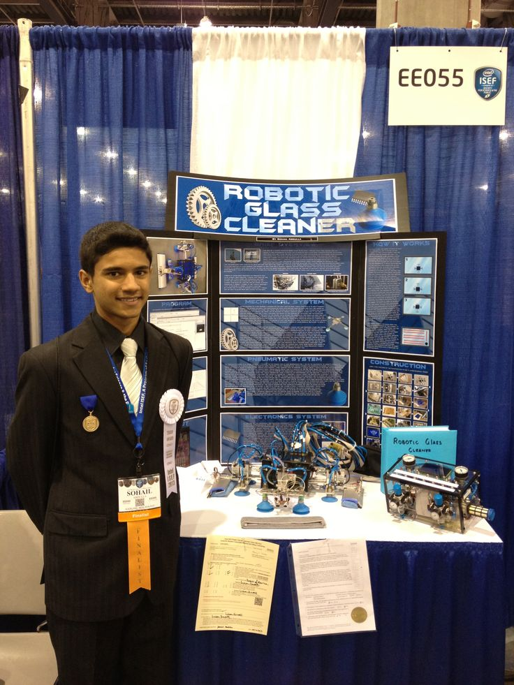 Congratulations to Sohail Abdulla, of Mt Roskill Grammar School in Auckland, who placed third in the Engineering: Electrical and Mechanical award at the prestigious The Intel International Science and Engineering Fair (Intel ISEF) competition in Phoenix, USA, in May. His entry, a robotic window cleaner, even led him to being featured on US TV, including on the Fox network.