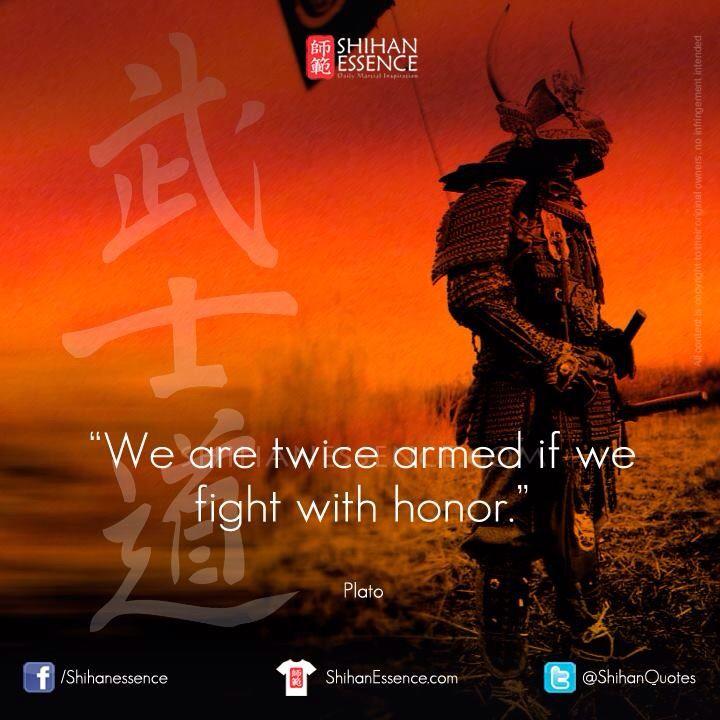 Plato. Twice armed martial art quote