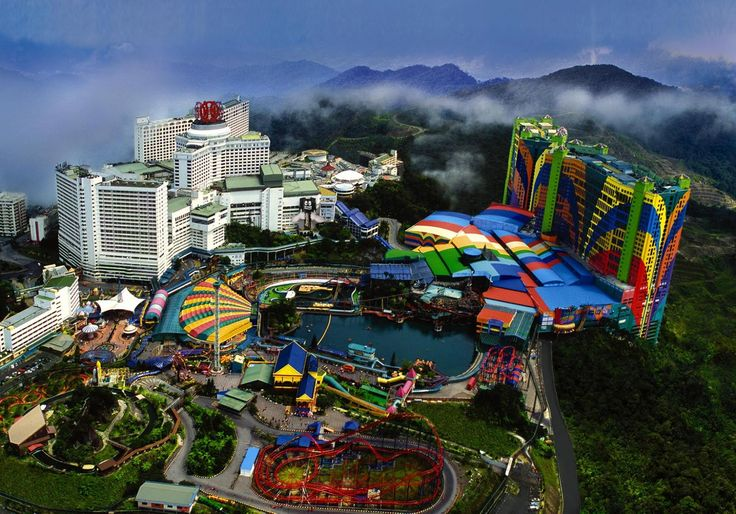 Genting highland is best tourist attraction in #Malaysia