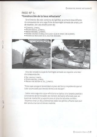 como construir un horno de barro