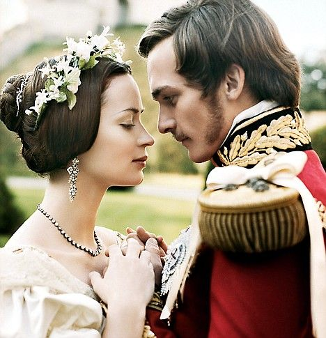 Daily Mail article Were Queen Victoria and Prince Albert both Illegitimate? What would have happened if she had been killed or he had not died so young? Emily Blunt and Rupert Friend in The Young Victoria