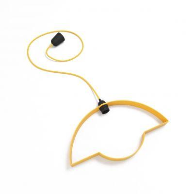 Lampa stołowa żółta // Tabanda