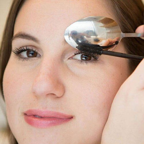 Make-up für Wimpern