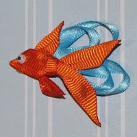 unique hair accessories for kids: fish hair clip - crafts ideas - crafts for kids