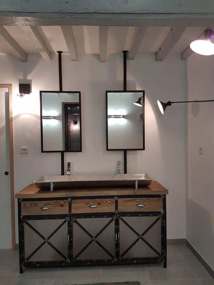 1000 id es sur le th me salle de bains industrielle sur pinterest industriel salle de bains. Black Bedroom Furniture Sets. Home Design Ideas