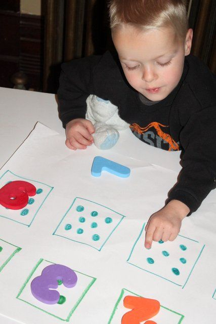 Number Match: Idea, Numbers, Letter Number, Hunt'S, Activities, Letters, Number Scavenger, Kid