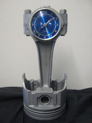 Ford Big Block Piston and Rod Clock by DansCustomClocks on Etsy - Upcycle Car Parts - Reuse Recycle Repurpose DIY DIY using parts from Cars, Motorcycles, Trucks, and more. -- Pin shared by Automotive Service Garage in Sarasota, FL -https://www.facebook.com/AUTOREPAIRSARASOTA