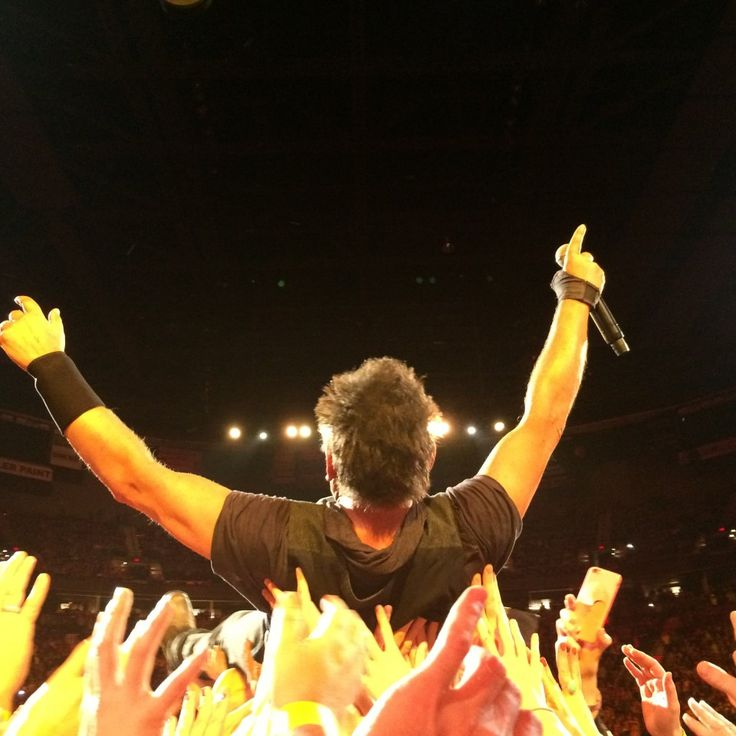 March 22, 2016 Bruce Springsteen and the E Street Band at Portland Moda Center.