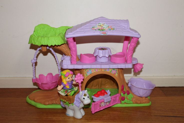 little people fairy treehouse