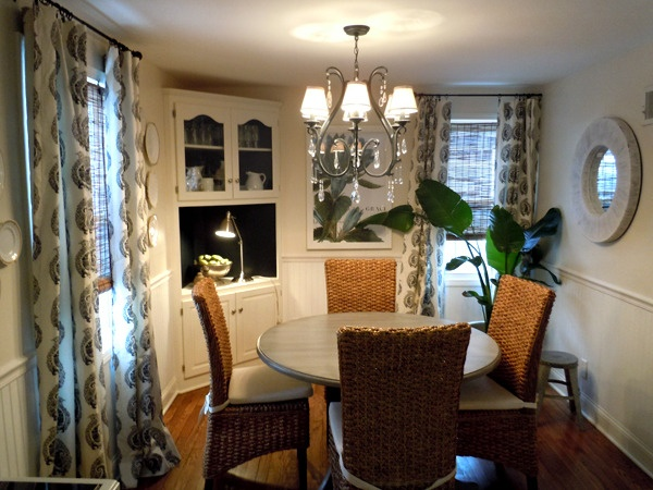 Really Cute, But Iu0027d Swap Out Those Drapes For A Pop Of Color. Casual Dining  RoomsCorner ...