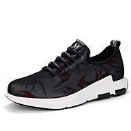 Αντρικό-Αθλητικά+Παπούτσια-Ύπαιθρος+Καθημερινό+ΑθλητικάΑνατομικό-Τούλι-Μαύρο+Κόκκινο+–+EUR+€+86.79