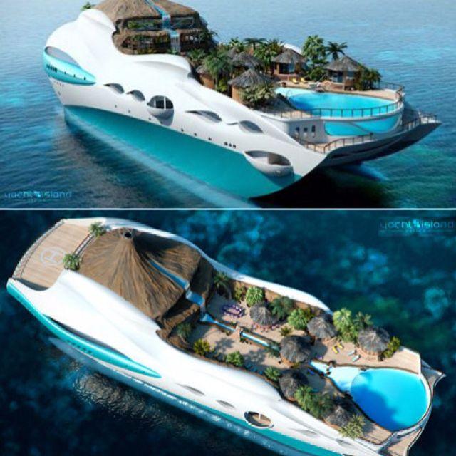 Boat, Tropical Islands, Island