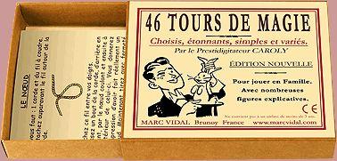 Marc Vidal - 46 Tours de Magie