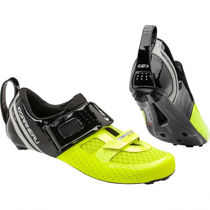 TRI X-LITE II TRIATHLON SHOES Here is a high-performance triathlon shoe designed to take you from the first to the second transition zone as fast as possible. The brand-new Tri X-Lite II is stiffer and its hook and loop fasteners won't loosen after 5 km of riding.
