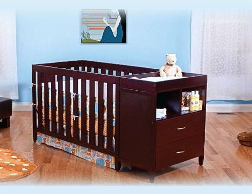 convertible crib to twin bed woodworking projects plans. Black Bedroom Furniture Sets. Home Design Ideas