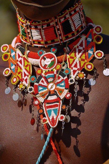 Beautiful Kenyan Bead Work.