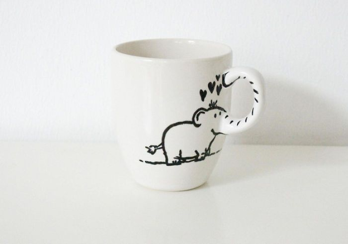 Elephant Cup | Bored Panda