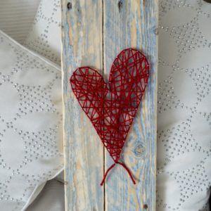 string art 1 coeur sur palettes recyclées (3)