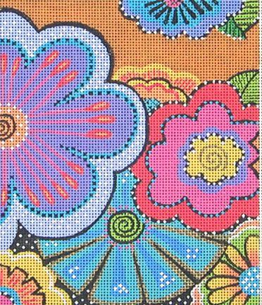 Danji designs Laurel Burch needlepoint canvas