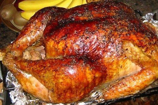 Foto de la receta de pavo relleno para navidad cocina - Pavo ala naranja al horno ...
