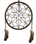 """The Native American """"dreamcatcher"""" is said to filter good dreams from bad. Tupak's original homepage pictured a dreamcatcher"""