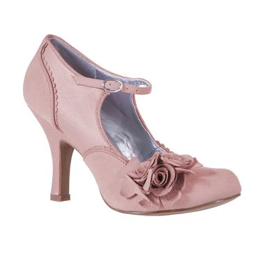 Ruby Shoo Womens Alice Shoes Dusky Pink 44 90