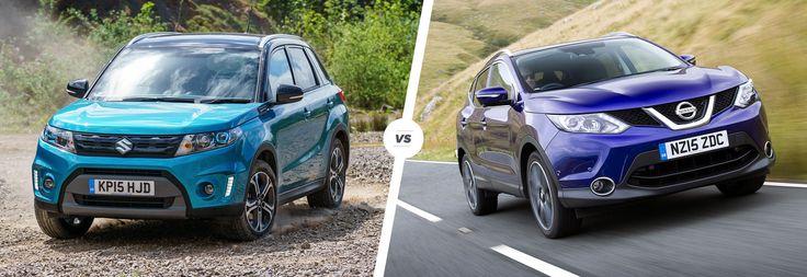 Suzuki Vitara vs Nissan Qashqai: SUV showdown | carwow