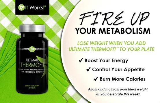 Fire Up Your Metabolism with It Works! ThermoFit www.sunshinewraps45.com Text 253-722-4404. Email gmauro73@ymail.com facebook.com/sunshinein45
