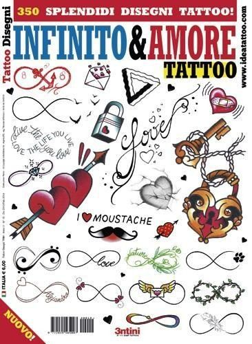 Infinity & Love Tattoo Design Book Cover