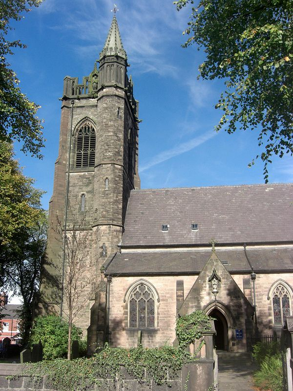 ˚Leek St Luke's Church Staffordshire