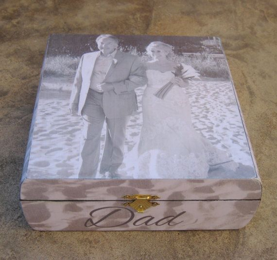 Personalized Wedding Keepsake Box Unique by DesignsByPictureThis, $125.00