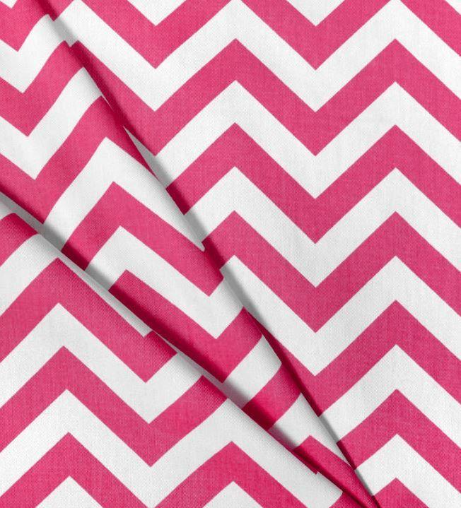 Hot Pink Chevron Table Cloth.
