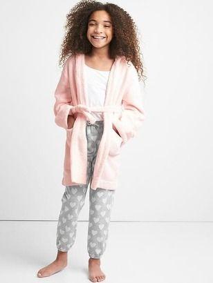 Super Soft fleece robe from Gap. #ad