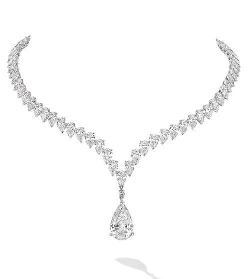 Le collier Love Drop de Messika en diamants